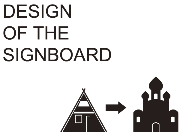 design-of the-signboard