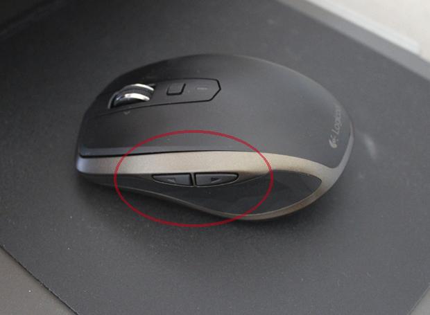 ロジクールのマウスの説明